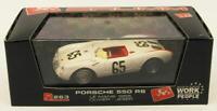 Brumm 1/43 Scale Model Car R263 - Porsche 550 RS Le Mans '55 - #65 Oliver/Jeser