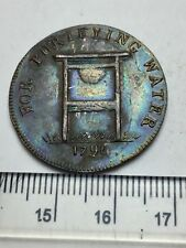 1796 Trade Conder Token, Water Purification Halfpenny in better grade (A514)