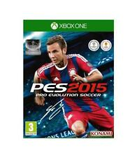 Pal version Microsoft Xbox One Pro Evolution Soccer 2015