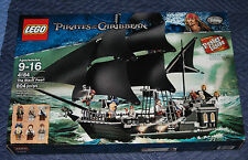 Lego Pirates of the Caribbean 4184 The Black Pearl sail ship New Sealed