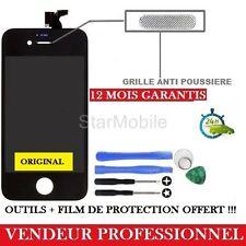 VITRE TACTILE IPHONE 4S NOIR ECRAN LCD + CHASSÎS ASSEMBLER + OUTILS + FILM