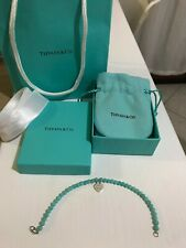 TIFFANY Original & Co. Return to Tiffany Bead Bracciale Bracelet Argento