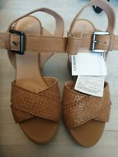 Womens Geox Respira Wedges Wedge Shoes Bnwt Rrp £100 Size Uk 4 Italian patent