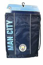 Manchester City Authentic Official Licensed Soccer Drawstring Cinch Sack Bag 007