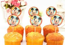 12 pcs Cupcake Cup Cake Decorating,Toppers PARTY DECORATION, Mickey Mouse