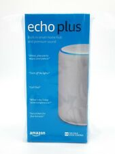 Amazon Echo Plus Gen 2 Smart Assistant Speaker Alexa built in home hub Sandstone