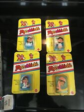 4 Monchhichi Pint Sized Mascots-with Packaging
