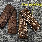 2X Deer Antler Knife Handle Scales DIY Material Slabs POM Resin Sword Making NEW