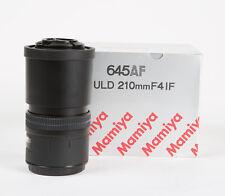 *MINT!* Mamiya 210mm F4 645 AF Telephoto Lens | Phase One | LIKE NEW