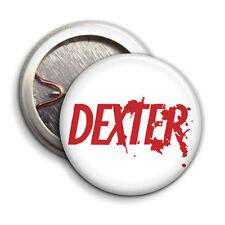 Dexter Logo - Tv Show  - Button Badge - 25mm 1 inch