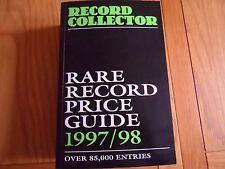 RECORD COLLECTER RARE RECORD PRICE GUIDE 1997/98