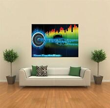 Equaliser e base DJ MUSIC NUOVO GIANT POSTER WALL ART PRINT PICTURE G440