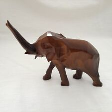 Wooden Baby Elephant - Hand Carved