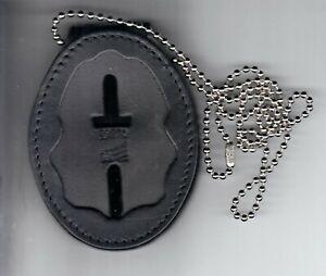 Drug Enforcement Administration DEA Badge Cut-Out Belt Clip/Neck Hanger