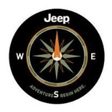"""Spare Tire Cover 32""""-33"""" For Jeep 4X4 Liberty Wrangler Compass Heavy Vinyl"""