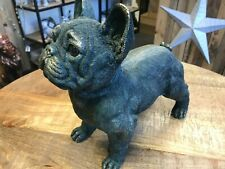 More details for resin french bulldog puppy dog pet home statue sculpture figurine ornament