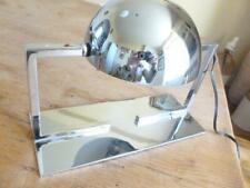 Pair Of Art Deco Chrome Lamps by Adnet.