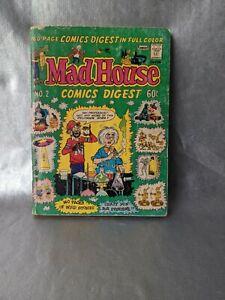 1976 MAD HOUSE COMICS DIGEST NO.2. FAWSETT PUBLISHING. 160 pg.