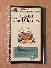 A Klutz Book Of Card Games Eddie Bauer Edition (1990 Paperback)