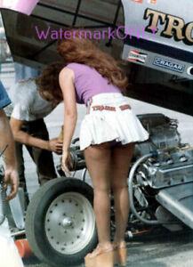 """Trojan Horse"" Larry Fullerton & ""Emel"" Ford Mustang NITRO Funny Car PHOTO! #22b"