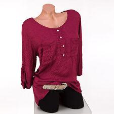 Locker sitzende gepunktete Damenblusen, - Tops & -Shirts im Passform aus Viskose