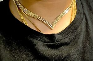 14k Imperial Gold Choker Necklace