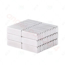Wholesale 15x5x2mm block rare earth neodymium permanent super strong magnets N50