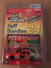 RARE 1999 Jeff Gordon 9Photos Featuring Charger card NASCAR Racers 1:64 Action