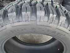 4 New 35X12.50R20 Inch Rockstar Mud Tires 35125020 35 1250 20 12.50 R20 M/T MT