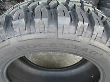 4 New 33X12.50R18 Inch Rockstar Mud Tires 33125018 33 1250 18 12.50 R18 M/T MT