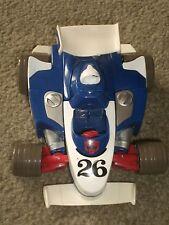TRANSFORMERS Go-Bots  SPEED BOT II Race Car Takara Hasbro 2002 Playskool