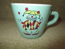 Shenango Green Mug with Joker / Clown 1968 - 1979 New Castle, PA Restaurant Ware