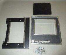 Rowe 4900 / 5900 Snack Machine Gum Rack Display Window Trim / Backplate Only,Guc