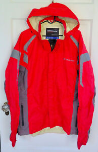 BMW Motorrad Rainlock 2 Jacket Unisex Size XL Red Packable Great Condition