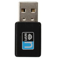 USB 150Mbps 802.11n/g/b Mini WiFi Wireless Card Adapter for WIN XP VISTA 7 I4P3