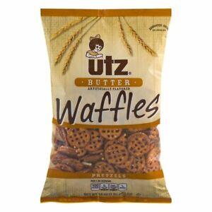 Utz Butter Waffles Pretzels 16 oz. Bag