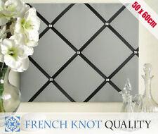 Ribbon notice board, Pin Board, French memo board, photo board GB Diamante