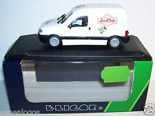 RARE ELIGOR PEUGEOT PARTNER MAGASINS JOUECLUB 1998 REF 100681 1/43 IN BOX