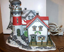 Pigeonhead Lighthouse - #56537 - Dept. 56 - Repaired