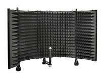 Microphone Isolation Shield Acoustic Isolation Chamber w/ Mounting Bracket (New)