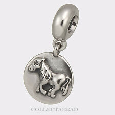 Authentic Pandora Sterling Silver Dangle Horse Chinese Zodiac Bead 790879