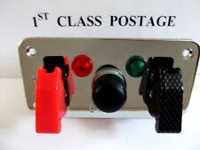 12v Ignition Switch Panel Push Button Start Battery Isolator Start Car Track