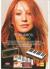 TORI AMOS A Piano UK magazine ADVERT / Poster/clipping 11x8 inches