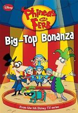 Phineas and Ferb Chapter Book Big-Top Bonanza 5 Disney Series 2009 Paperback