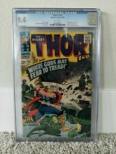 Thor #132 CGC 9.4 WHITE Pages (First appearance of Ego)