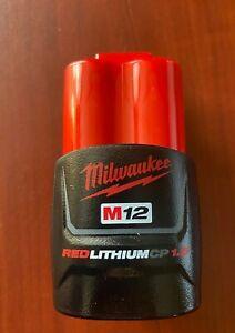 Milwaukee 48-11-2401 M12 Red Lithium 1.5 Ah CP RED Li-Ion Battery GENUINE