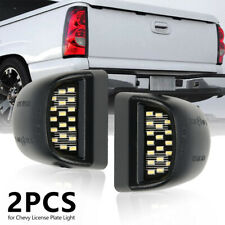 2pcs LED License Plate Light For 2000-2006 Chevy Tahoe Suburban GMC Sierra Yukon