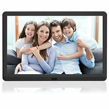 "10"" HD Digital Photo Frame, 1920x1080 High Resolution 16:9 Full IPS, Auto Rotate"