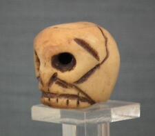Antique 19th century Memento Mori Scull Pendant