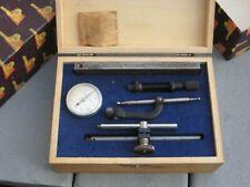 Vintage Brown And Sharpe 599 7740 Universal Dial Indicator Set